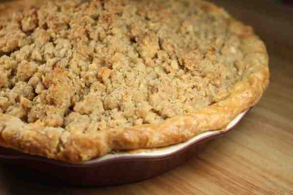 Apple Crumb Pie | Pixelated Crumb