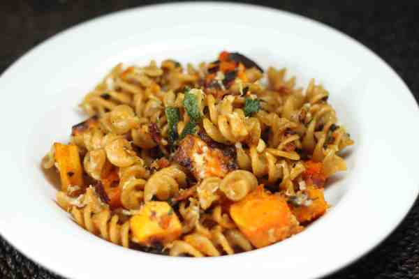 pasta with butternut squash, sage, and pine nuts | Pixelated Crumb