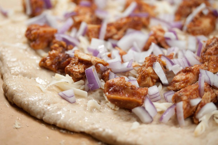 bbq chicken and onions