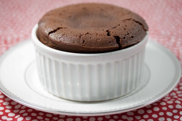 individual spiced chocolate cakes