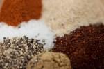 chili powder, garlic powder, cayenne, cumin, salt, black pepper