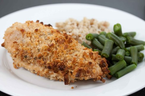 Oven Fried Chicken