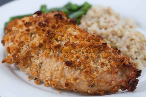 Oven Fried Chicke
