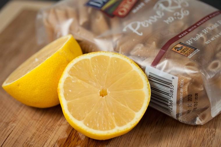 Whole Wheat Penne and Lemon